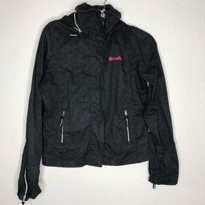 Bench concealed hood windbreaker jacket